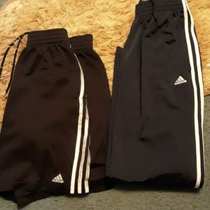 Mens adidas shorts and pants